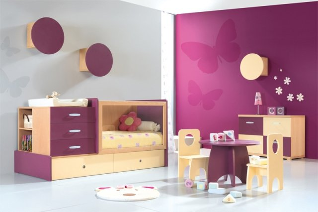 decoration murale chambre fillette visuel 6. Black Bedroom Furniture Sets. Home Design Ideas