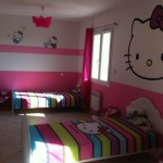 decorations chambre hello kitty