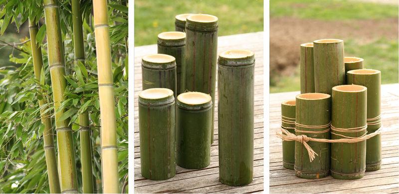 que faire avec du bambou carr potager linearis en bambou l x l x h with que faire avec du. Black Bedroom Furniture Sets. Home Design Ideas
