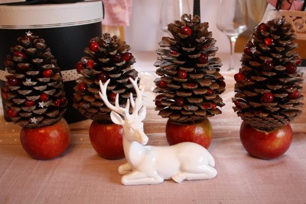 Fabriquer Deco Noel Avec Pomme De Pin Visuel 7