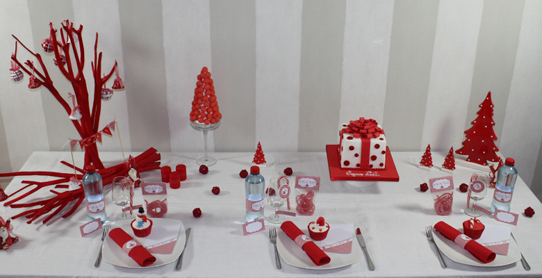Fabriquer sa decoration table noel visuel 8 - Decoration de table de noel a fabriquer ...