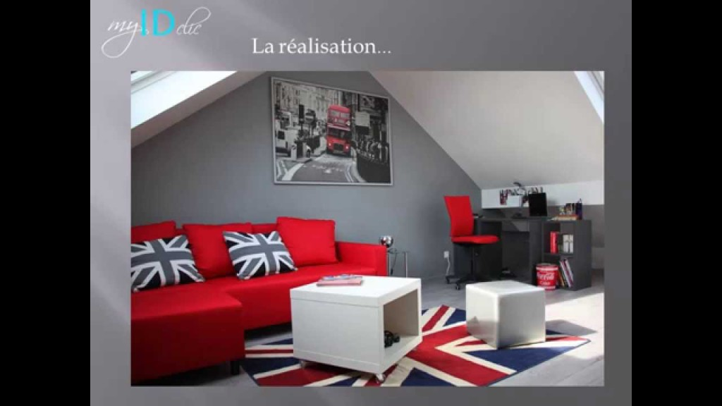 Idee deco chambre ado londres visuel 7 for Chambre londres