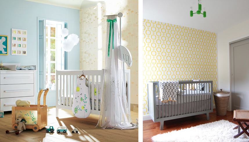 Idee deco chambre bebe originale for Photo de chambre bebe