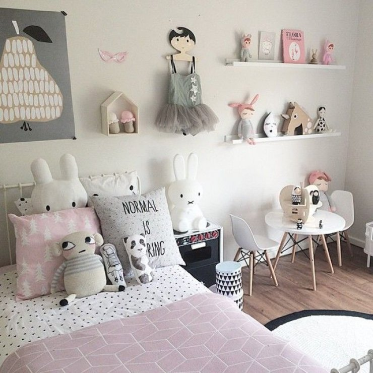 Chambre Fille Rose Et Taupe. Beautiful Beautiful Decoration Chambre ...