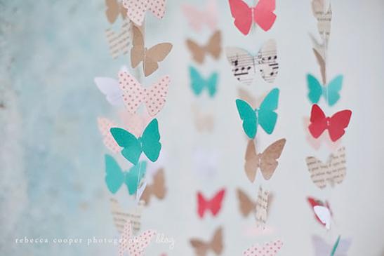 Idee deco pour chambre bebe faire soi meme visuel 5 - Guirlande papillon a faire soi meme ...