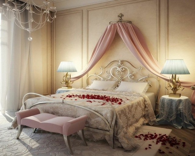 idee deco pour chambre romantique visuel 5. Black Bedroom Furniture Sets. Home Design Ideas