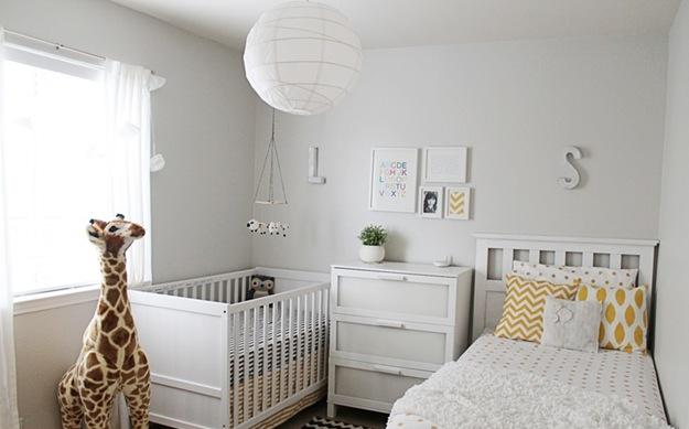 D co chambre mixte bebe - Idee deco chambre bebe fille photo ...