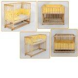 lit d appoint lit double parc bebe pour jumeaux 2en1 jaune visuel 3. Black Bedroom Furniture Sets. Home Design Ideas