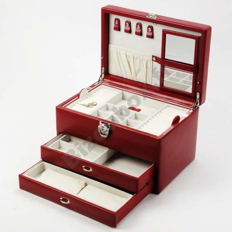 Boite A Bijoux Cuir : boite a bijoux en cuir ~ Teatrodelosmanantiales.com Idées de Décoration