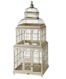 cage oiseau decorative en bois. Black Bedroom Furniture Sets. Home Design Ideas