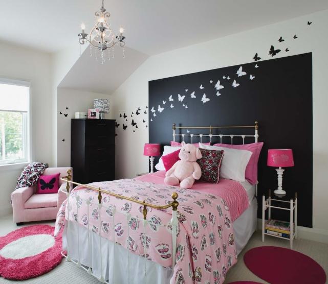 chambre d ado fille deco - visuel #5 - Comment Decorer Une Chambre De Fille