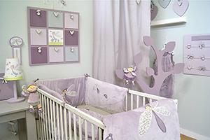 chambre deco bebe fille - visuel #1