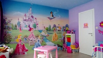 chambre deco princesse disney - Decoration Chambre Princesse