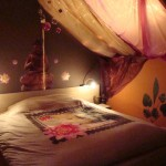 chambre decoration indienne