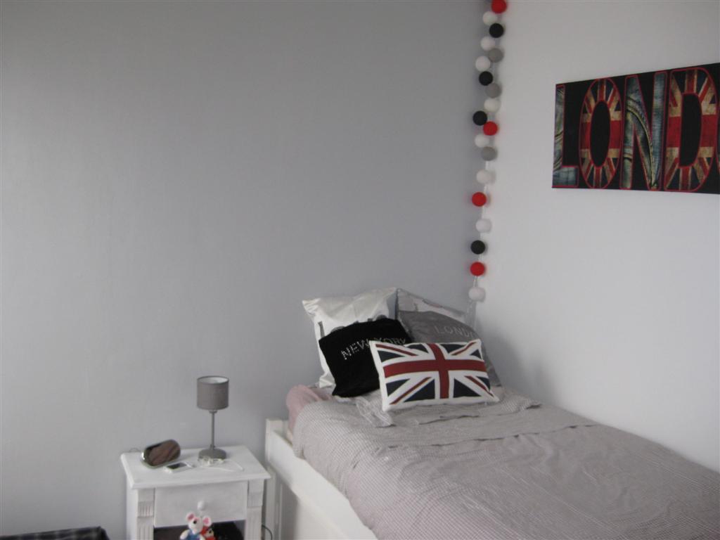 Deco chambre ado gris et blanc Deco chambre gris et blanc