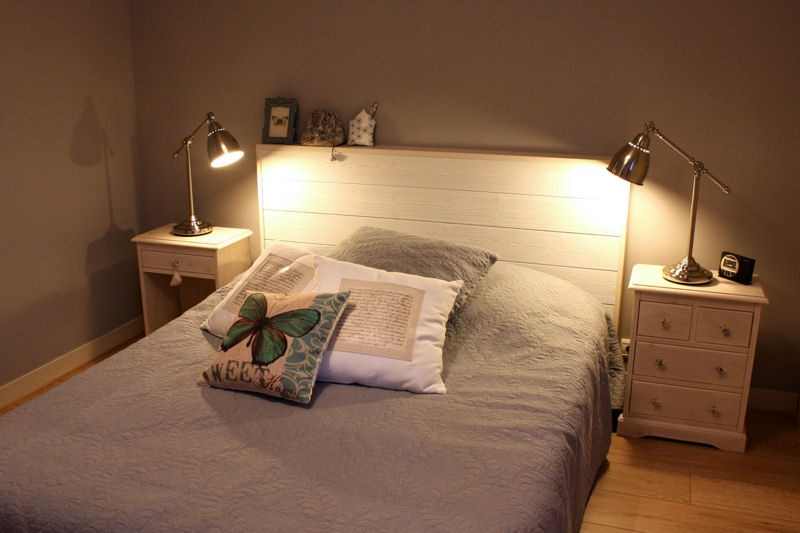 Awesome Decoration Chambre Adulte Avec Lambris Pictures - Design ...