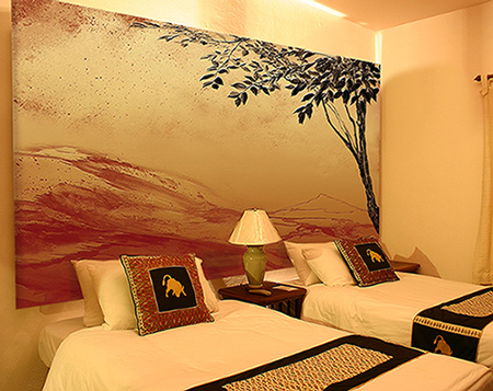 decoration chambre africaine