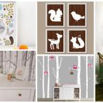 deco chambre bebe animaux de la foret. Black Bedroom Furniture Sets. Home Design Ideas