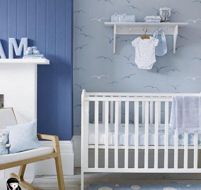Awesome Decoration Chambre Bebe Bleu Images - Design Trends 2017