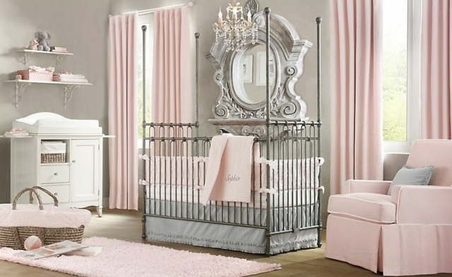 deco chambre bebe luxe visuel 7. Black Bedroom Furniture Sets. Home Design Ideas