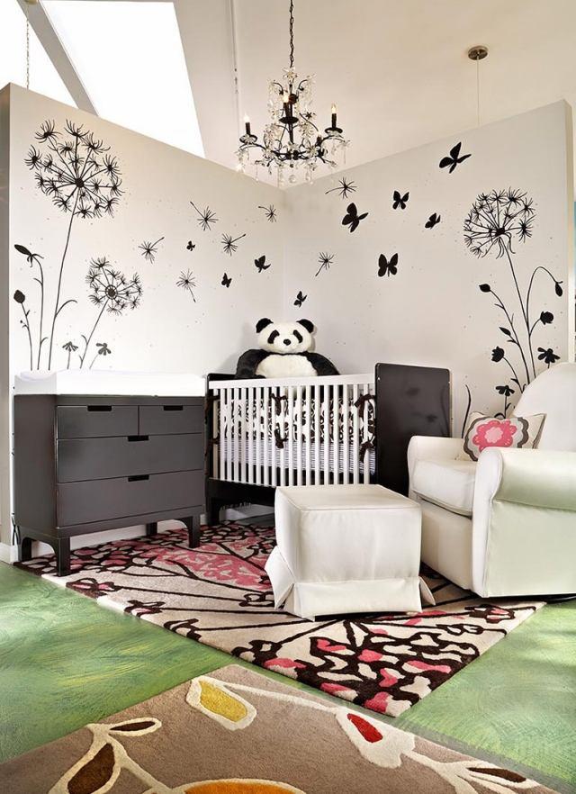 Chambre Bébé Panda : Deco chambre bebe panda visuel