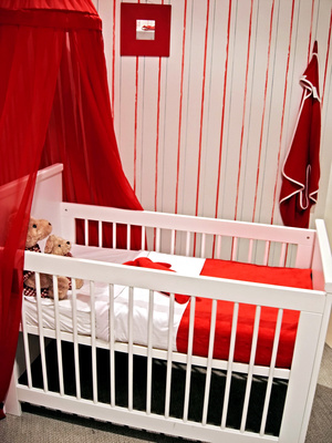 Beautiful Deco Chambre Bebe Rouge Et Beige Photos - Matkin.info ...