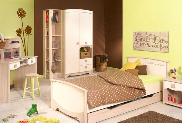 Stunning Chambre A Coucher Marron Et Vert Pictures - Design Trends ...
