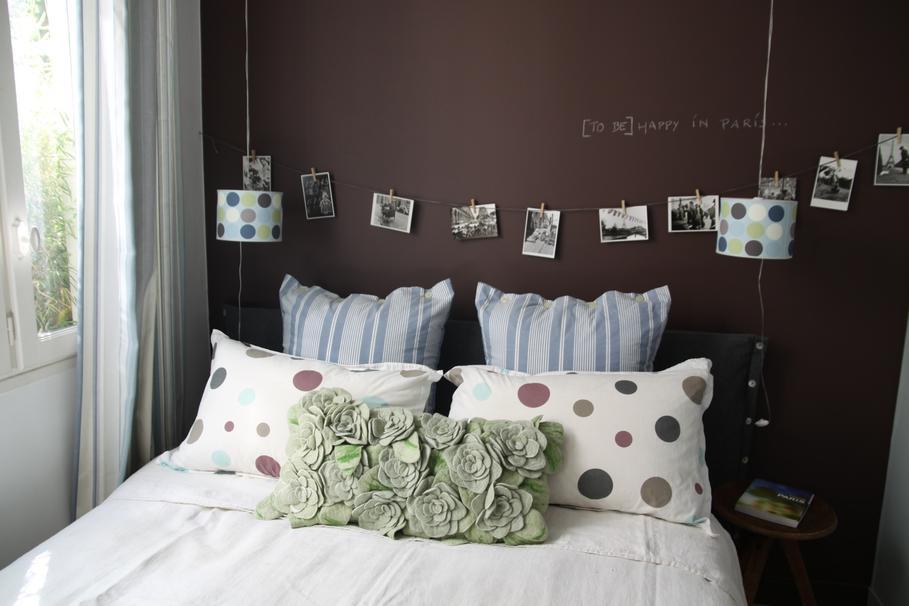 deco chambre bebe vert et chocolat - visuel #8