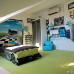 deco chambre formule 1. Black Bedroom Furniture Sets. Home Design Ideas