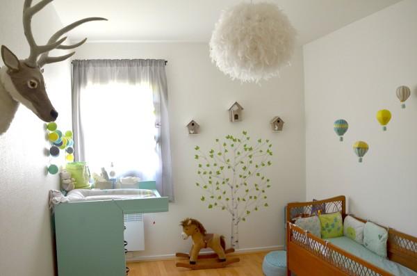 d coration chambre garcon nature. Black Bedroom Furniture Sets. Home Design Ideas