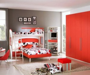 Bout 39 chambre - Chambre garcon rouge ...