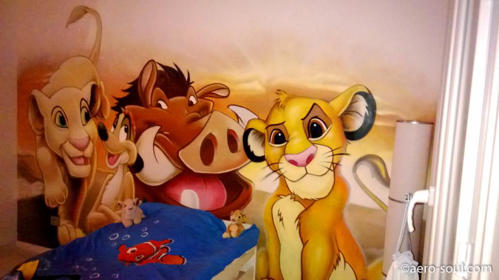Deco chambre roi lion visuel 8 for Decoration chambre le roi lion
