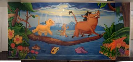 Deco chambre roi lion for Decoration chambre le roi lion