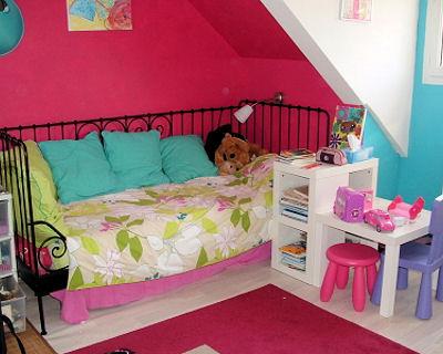 deco chambre rose et bleu - visuel #4