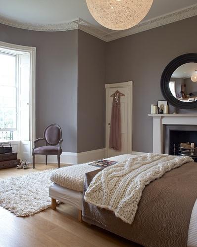 deco chambre taupe et beige - visuel #4