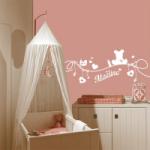deco murale chambre bebe fille