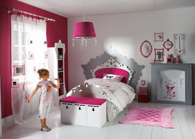La decoration de chambre de fille - blog efficity