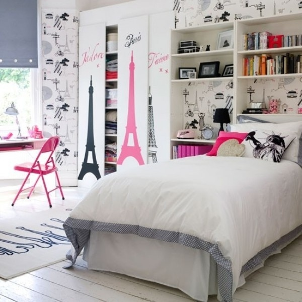 decoration chambre ado theme musique visuel 7. Black Bedroom Furniture Sets. Home Design Ideas