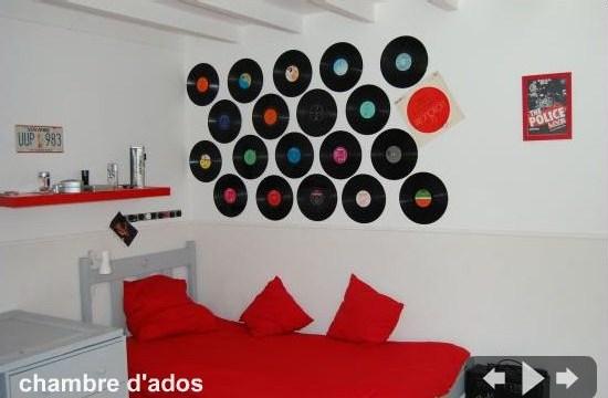 decoration chambre ado theme musique