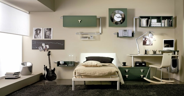 decoration chambre adolescent garcon visuel 6. Black Bedroom Furniture Sets. Home Design Ideas