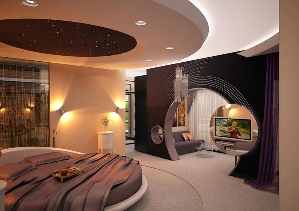 Decoration Chambre Avec Lit Rond U2013 Visuel #2. «
