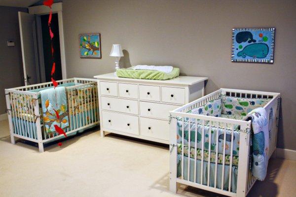 decoration chambre bebe jumeaux - visuel #3
