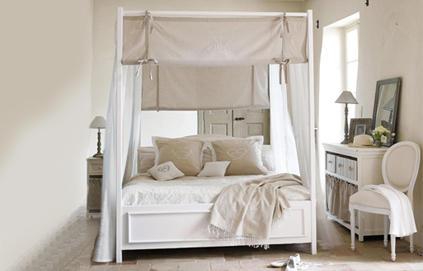 Decoration Chambre Blanc Et Beige Visuel 7