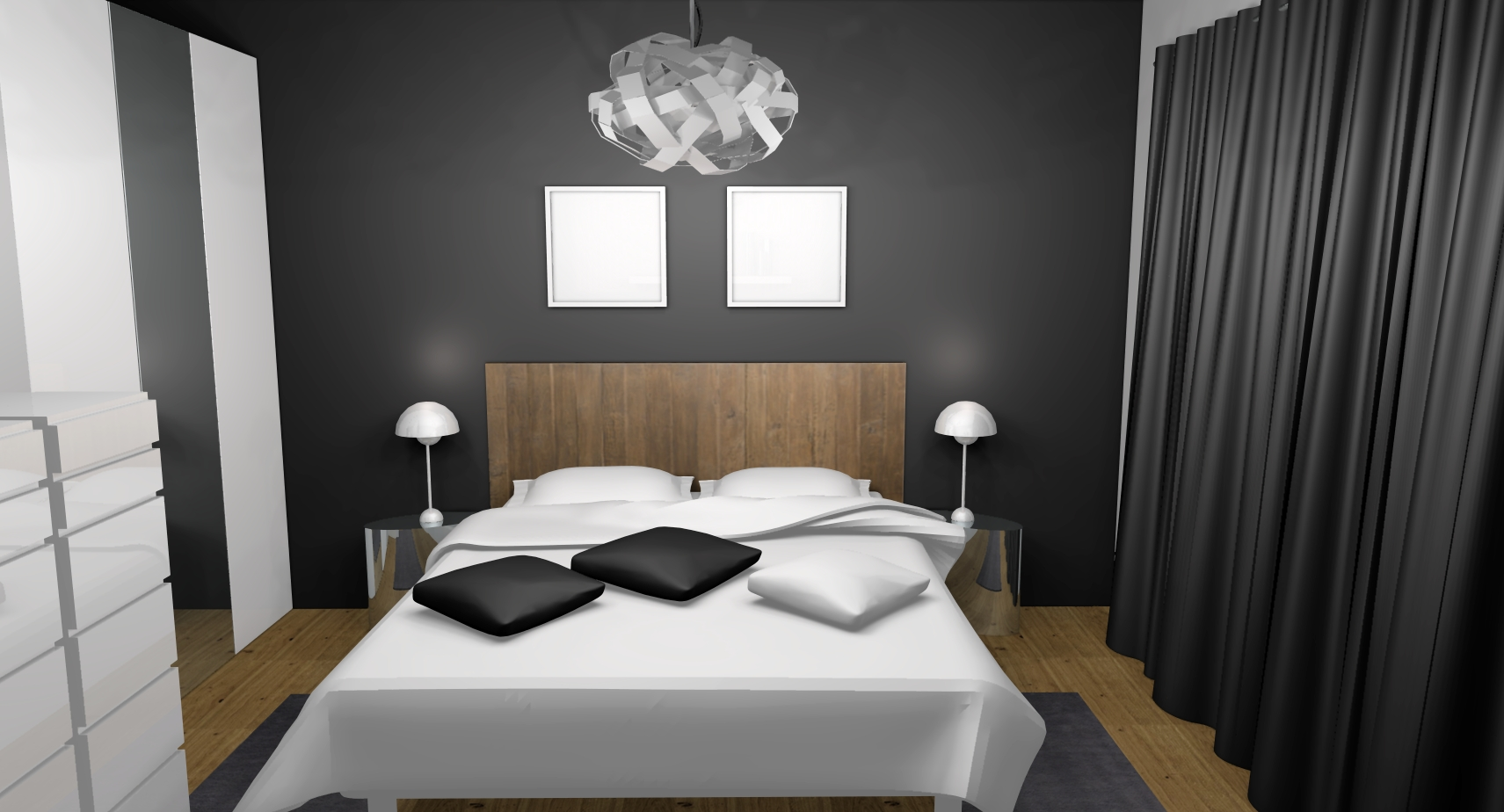 decoration chambre d adulte. Black Bedroom Furniture Sets. Home Design Ideas