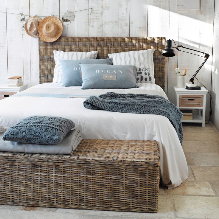 D co chambre esprit bord de mer for Decoration maison vacances mer