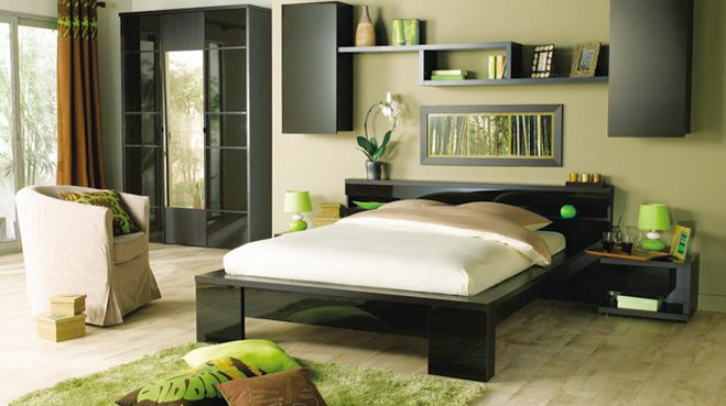 decoration chambre esprit zen visuel 8. Black Bedroom Furniture Sets. Home Design Ideas