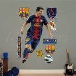decoration chambre fc barcelone