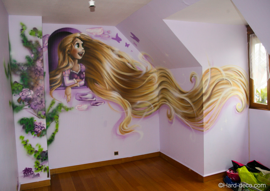 Decoration chambre fille manga visuel 5 for Decoration princesse chambre fille
