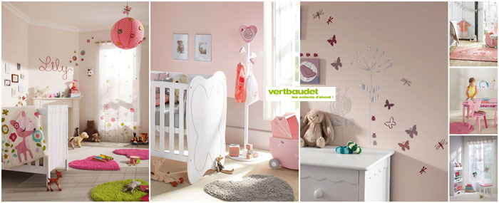 Decoration chambre fille vertbaudet for Chambre bebe verbaudet