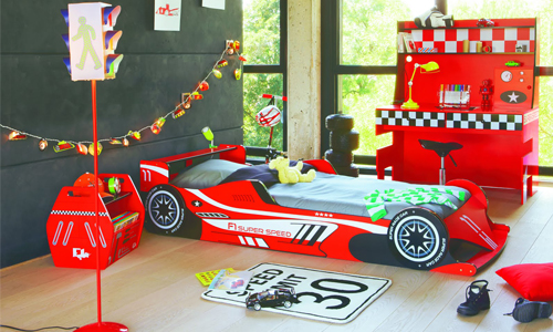 Image gallery decoration formule 1 for Chambre garcon voiture de course